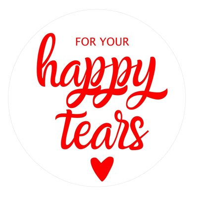 for your happy tears stickervel